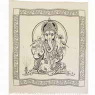 "Tenture murale - ""Ganesh"" (tgm065)"