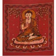 """Tenture batik """"Bouddha""""(tgmb067)"""