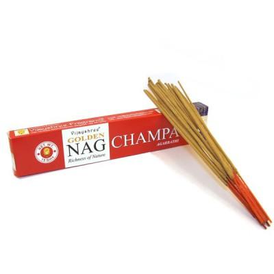 "Encens indien ""Nag Champa Agarbathi Golden"" (Nagcgold1/15)"