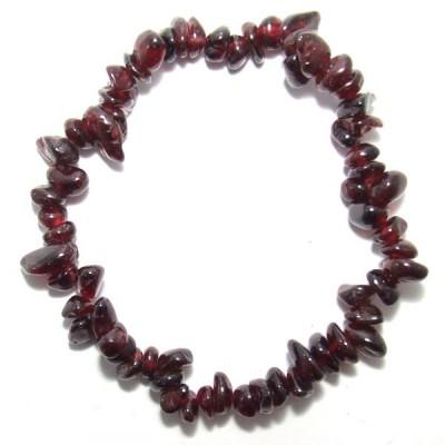Bracelet Indien artisanal en Grenat - Pierres semi-precieuses