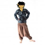 Pantalon Sarouel Femme - Marron Clair