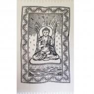 """Tenture Indienne """"Bouddha"""" (tmm091)"""
