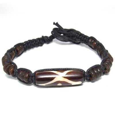 Bracelet Indien en os - brinco003 - bijou artisanal Indien