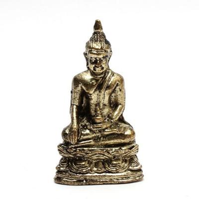 Statuette Bouddha - Mini Statuette Indienne artisanale (stabxs001)