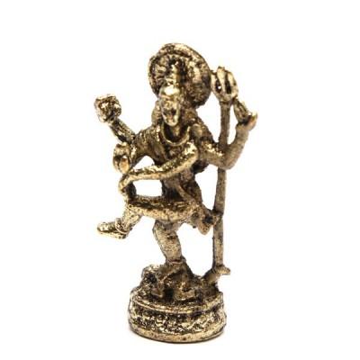 Statuette Shiva - Mini Statuette Indienne artisanale (stabxs007)