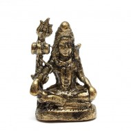 Statuette Shiva - Mini Statuette Indienne artisanale (stabxs004)