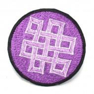 Ecusson à coudre - Violet (ecnep1R070)