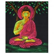 Tenture UV Indienne Bouddha (ptfl028)
