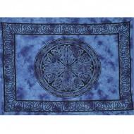 """Tenture Murale""""Celtique"""" bleue (tmm146)"""
