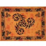 "Tenture Murale""Triskel"" orange (tmm149)"