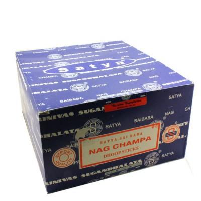 """Encens indien """"Nag Champa Dhoop Sticks"""" (nagdhoop12/10)"""