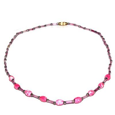 Collier Indien en perles de rocailles (pcolper02)
