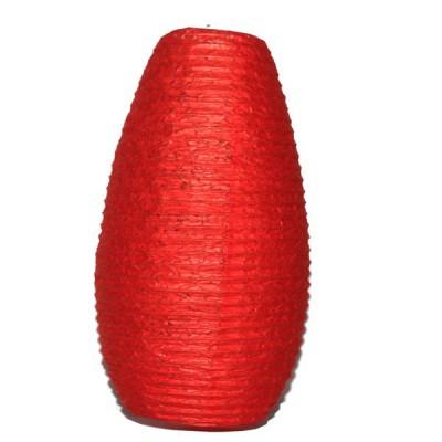Lampion népalais en papier rouge (lampnp003)