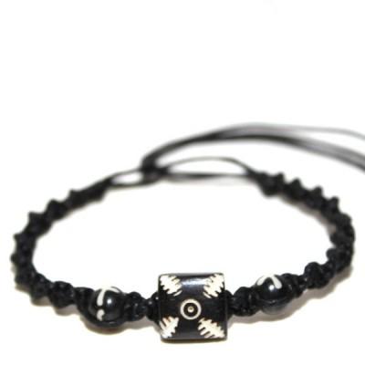 Bracelet indien en os (brinco005)