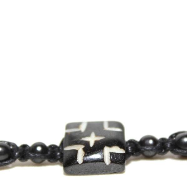Bracelet indien en os brinco009 bijoux indiens originaux sur - Bracelets bresiliens originaux ...