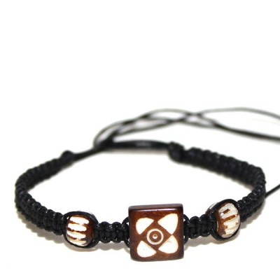 Bracelet indien en os (brinco013)