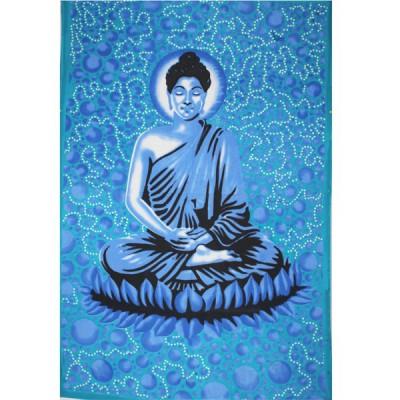 """Tenture Indienne""""Bouddha""""(tmm162)"""
