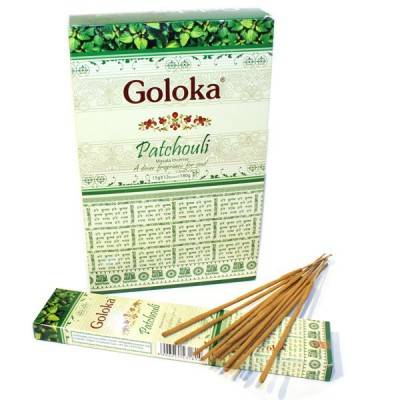 """Encens indien """"Goloka Patchouli"""" (golpatchou12-15)"""
