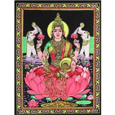 "Tenture Batik ""Lakshmi"" (ptbfl03)"