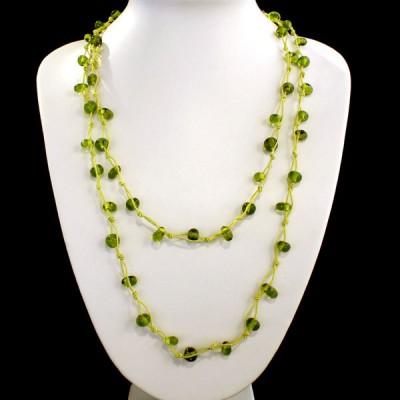 Sautoir en perles de verre (gcolper03)