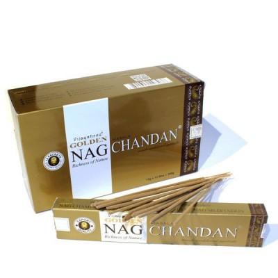 "Encens indien ""Golden Nag Chandan"" (nagchan12/15)"