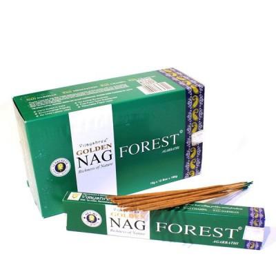 """Encens indien """"Golden Nag Forest"""" (nagfor12/15)"""