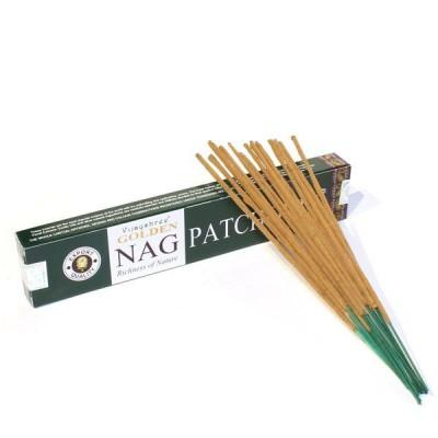 """Encens indien """"Golden Nag Patchouli"""" (nagpat1/15)"""