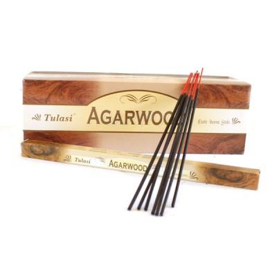 "Encens indien ""Agarwood"" - ""Bois d'Agar"" (agartul8/25)"