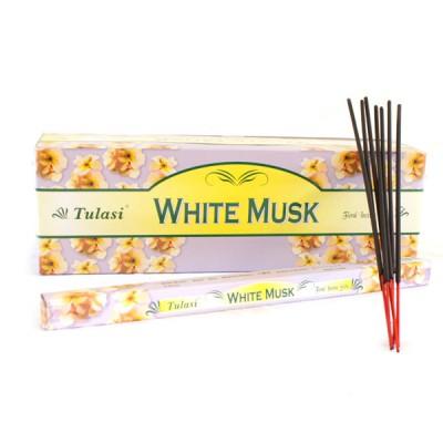 "Encens indien ""Musc Blanc"" - ""White Musk"" (wmustul8/25)"