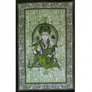 "Tenture Indienne ""Ganesh"" (tmm199v)"