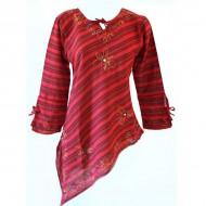 Tunique Népalaise (tunep02v) - Vêtements artisanaux sur Artiglobe.com