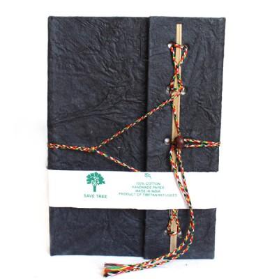 Carnet de note Indien noir (cnig08n)