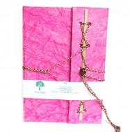 Carnet de note Indien rose(cnig12r)