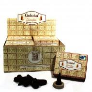 """Encens indien """"Goloka Dhoop Cones"""" (patdhoopcgol1/10)"""