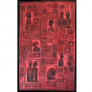 """Tenture Murale """"Portraits d'Afrique"""" (tmm217)"""