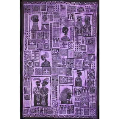 """Tenture Murale """"Portraits d'Afrique"""" (tmm218)"""
