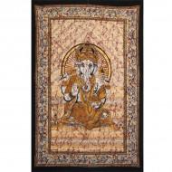 """Tenture Indienne """"Ganesh"""" (tmm198m)"""
