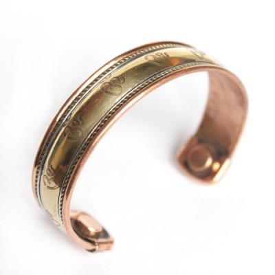 Bracelet Cuivre et Aimants (brcuig12)