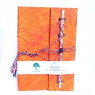 Carnet de note Indien orange (cnig11or)