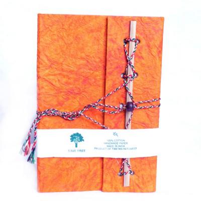 Carnet de note Indien orange (cnig11/2or)