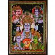 Tenture Batik dela divinitée hindou Hannuman