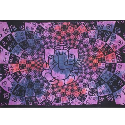 """Tenture Indienne """"Ganesh"""" (tmm234vl)"""