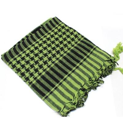 Keffieh vert à carreaux(004/3)