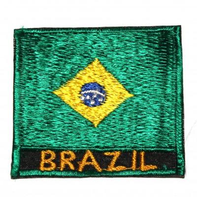 Ecusson Drapeau Bresilien (ecnepdr_brazil)