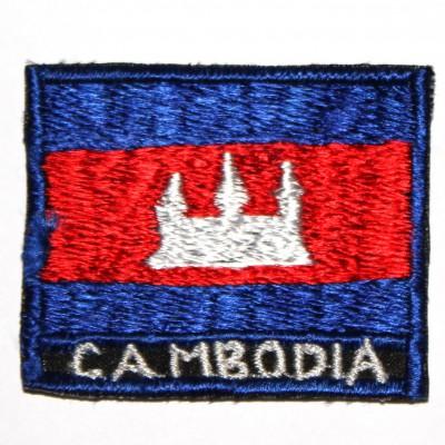 Ecusson Drapeau Cambodgien (ecnepdr_cambodgia)