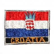 Ecusson Drapeau Croate (ecnepdr_croatia)