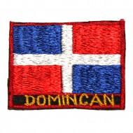 Ecusson Drapeau Dominicain (ecnepdr_dominica)