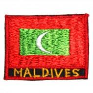 Ecusson Drapeau des Maldives (ecnepdr_maldives)