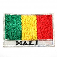 Ecusson Drapeau Malien (ecnepdr_mali)