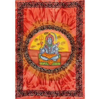 """Tenture Batik """"Shiva"""" (tmm135/2)"""